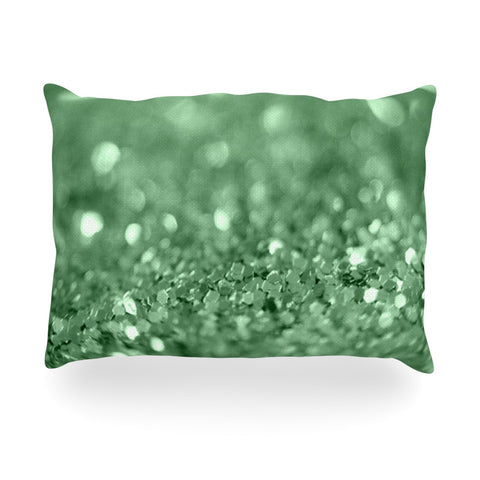 "Beth Engel ""Lucky Shamrock"" Oblong Pillow - KESS InHouse"