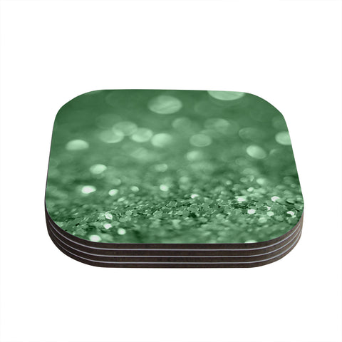 "Beth Engel ""Lucky Shamrock"" Coasters (Set of 4)"