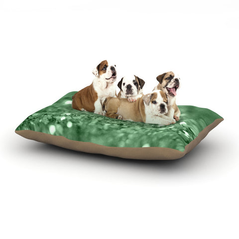 "Beth Engel ""Lucky Shamrock"" Dog Bed - KESS InHouse  - 1"