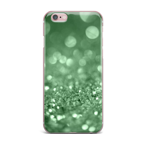 "Beth Engel ""Lucky Shamrock"" iPhone Case - KESS InHouse"