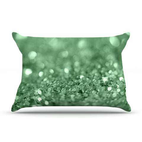 "Beth Engel ""Lucky Shamrock"" Pillow Sham - KESS InHouse"