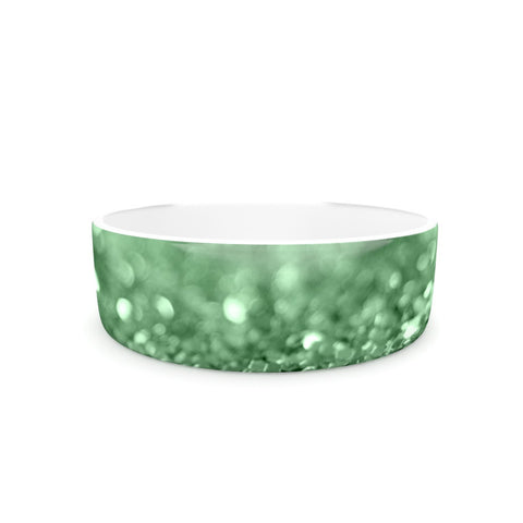 "Beth Engel ""Lucky Shamrock"" Pet Bowl - KESS InHouse"