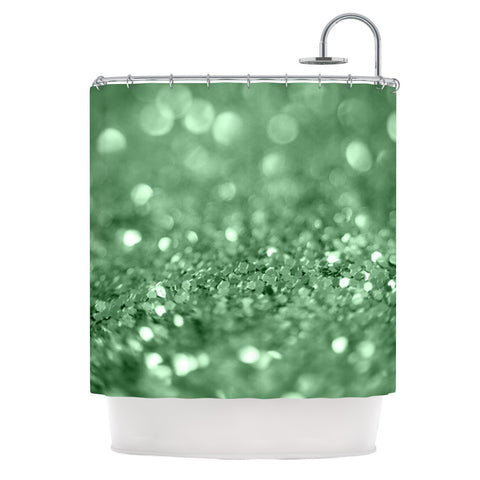 "Beth Engel ""Lucky Shamrock"" Shower Curtain - KESS InHouse"