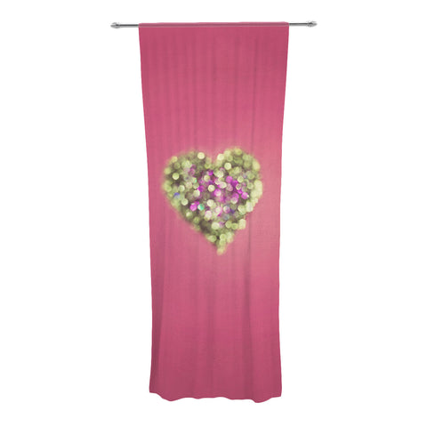 "Beth Engel ""Make Your Love Sparkle"" Decorative Sheer Curtains - KESS InHouse"