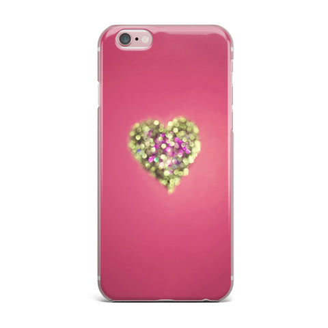 "Beth Engel ""Make Your Love Sparkle"" iPhone Case - KESS InHouse"