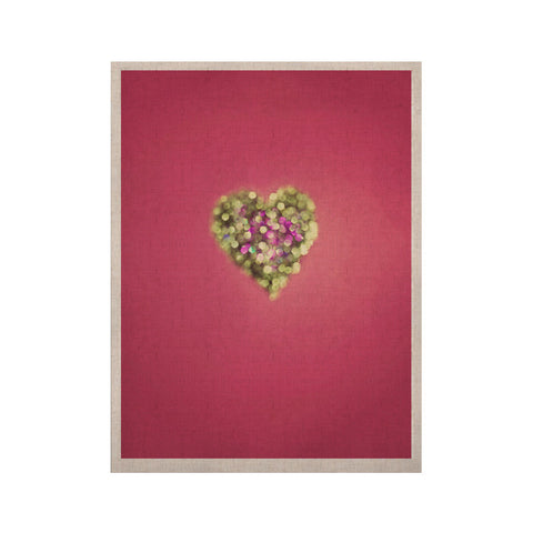 "Beth Engel ""Make Your Love Sparkle"" KESS Naturals Canvas (Frame not Included) - KESS InHouse  - 1"