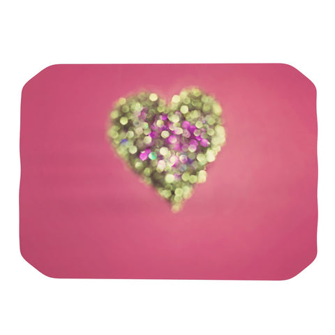 "Beth Engel ""Make Your Love Sparkle"" Place Mat - KESS InHouse"