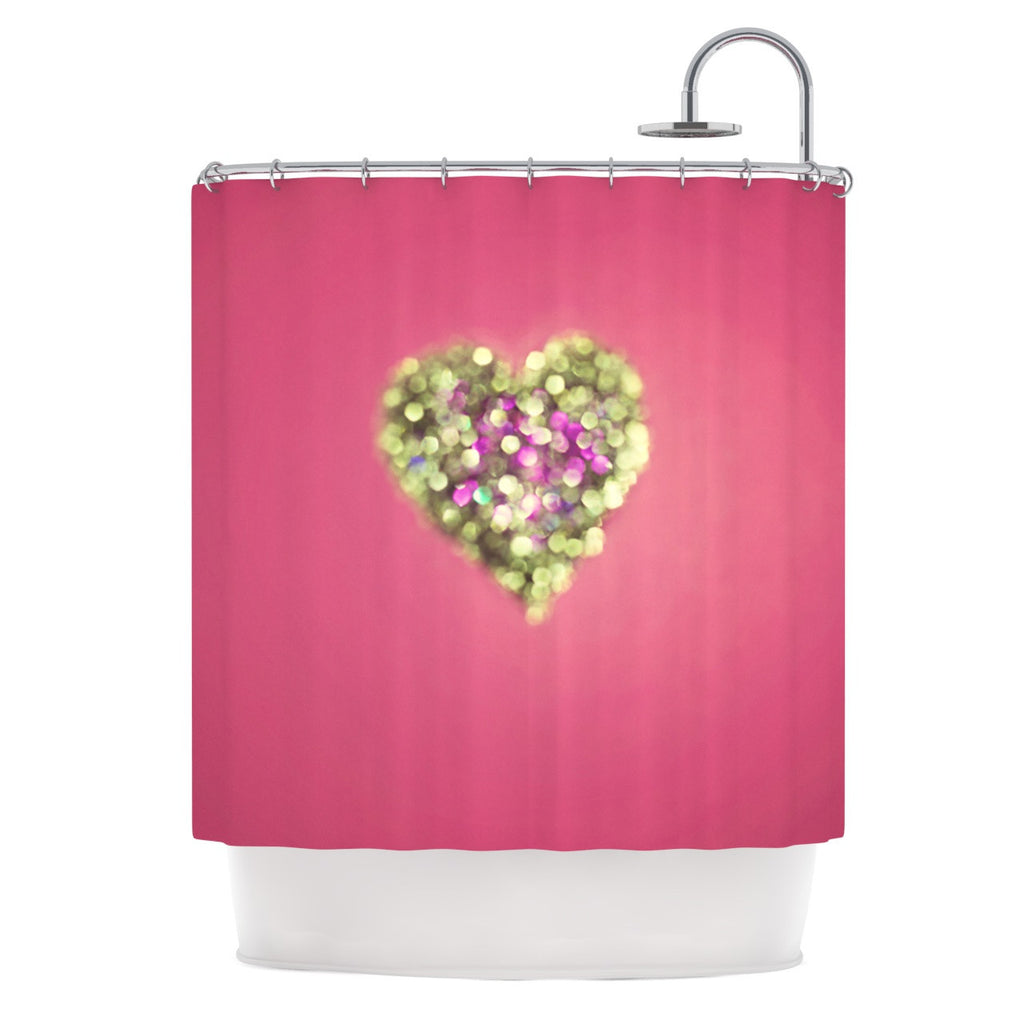 "Beth Engel ""Make Your Love Sparkle"" Shower Curtain - KESS InHouse"