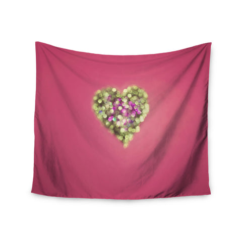 "Beth Engel ""Make Your Love Sparkle"" Wall Tapestry - KESS InHouse  - 1"