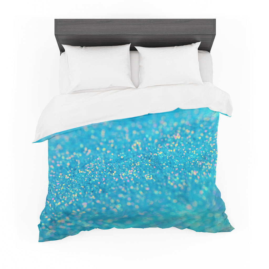 "Beth Engel ""Mermaid Sparkles"" Featherweight Duvet Cover"