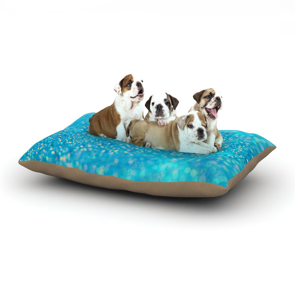 "Beth Engel ""Mermaid Sparkles"" Dog Bed - KESS InHouse  - 1"