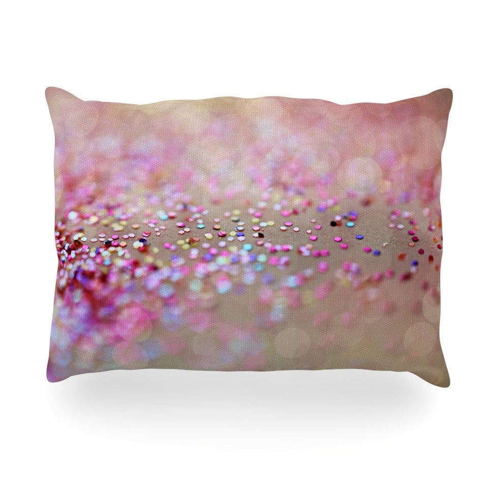"Beth Engel ""Princess Confetti"" Oblong Pillow - KESS InHouse"