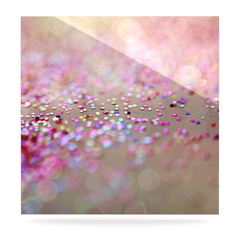 "Beth Engel ""Princess Confetti"" Luxe Square Panel - KESS InHouse  - 1"