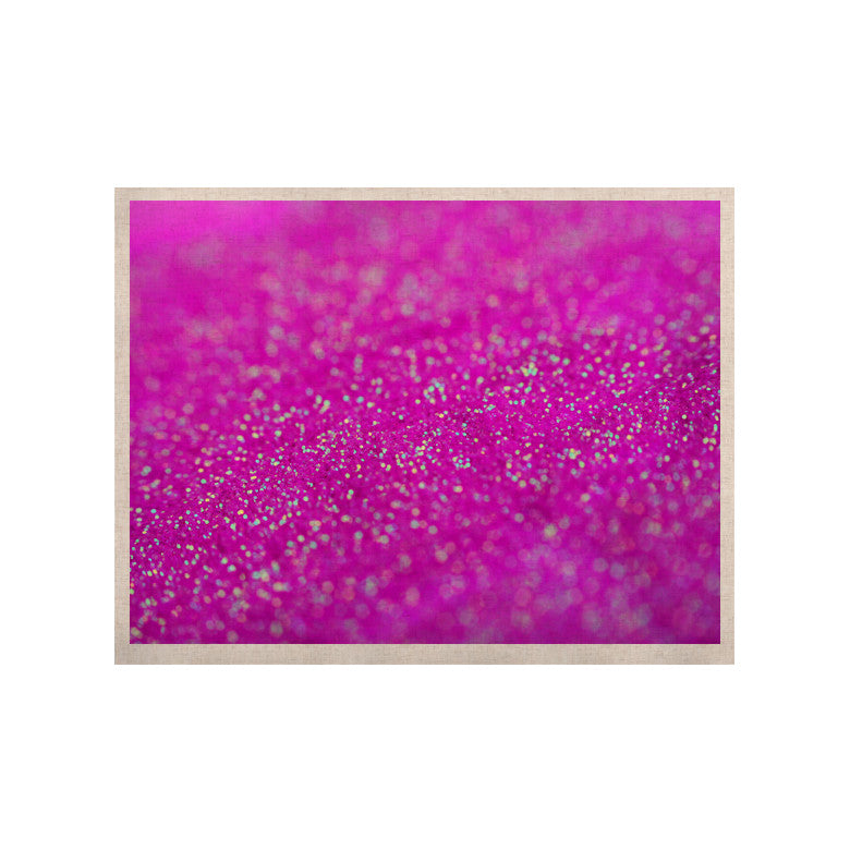 "Beth Engel ""Raspberry Sorbet"" KESS Naturals Canvas (Frame not Included) - KESS InHouse  - 1"