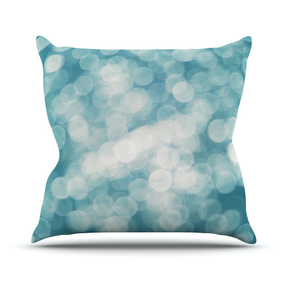 "Beth Engel ""Snow Princess"" Outdoor Throw Pillow - KESS InHouse  - 1"