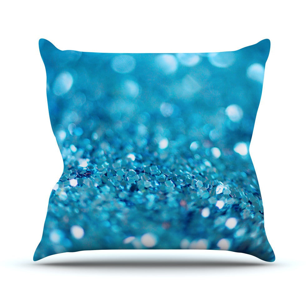 "Beth Engel ""Swimming"" Outdoor Throw Pillow - KESS InHouse  - 1"