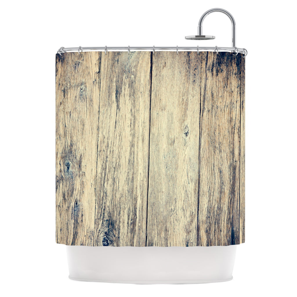 "Beth Engel ""Wood Photography II"" Shower Curtain - KESS InHouse"