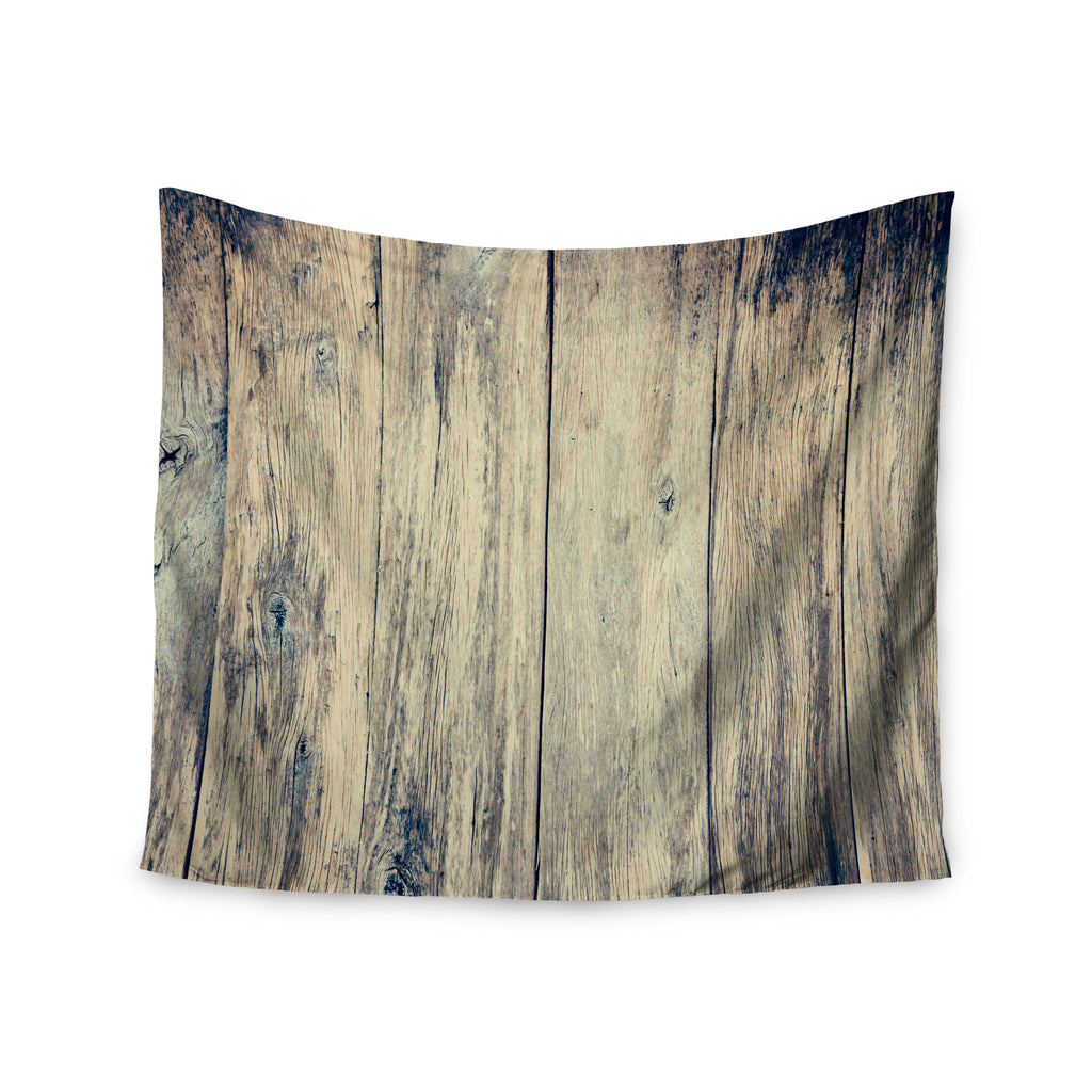 "Beth Engel ""Wood Photography II"" Wall Tapestry - KESS InHouse  - 1"