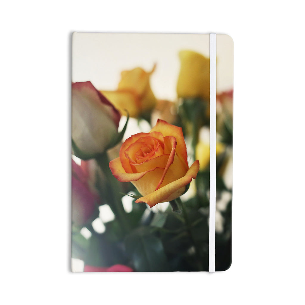 "Beth Engel ""Sweet Reminder"" Flowers Yellow Everything Notebook - KESS InHouse  - 1"