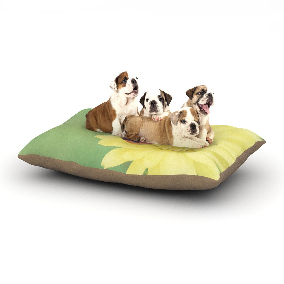 "Beth Engel ""Little Lady"" Ladybug Dog Bed - KESS InHouse  - 1"