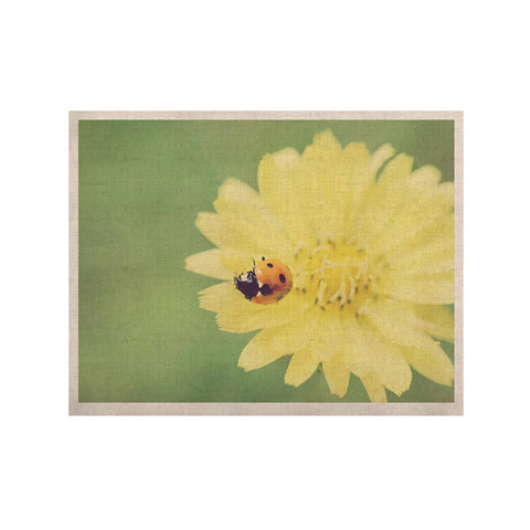 "Beth Engel ""Little Lady"" Ladybug KESS Naturals Canvas (Frame not Included) - KESS InHouse  - 1"