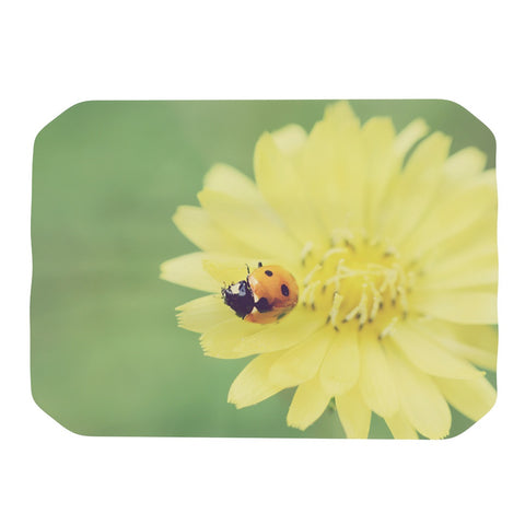 "Beth Engel ""Little Lady"" Ladybug Place Mat - KESS InHouse"