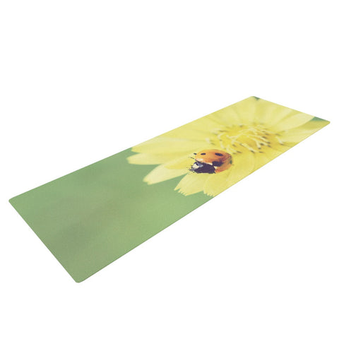 "Beth Engel ""Little Lady"" Ladybug Yoga Mat - KESS InHouse  - 1"