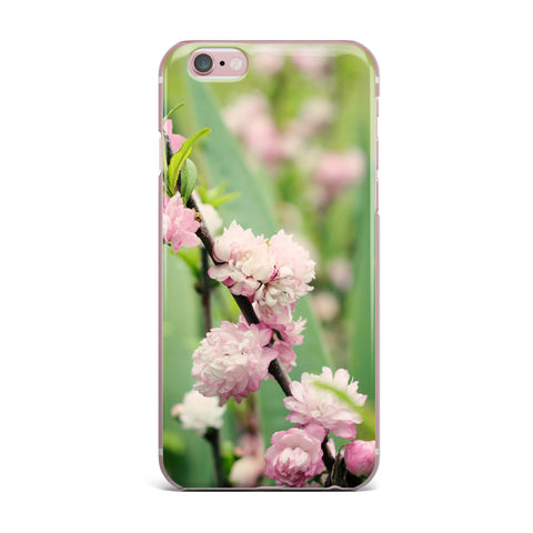 "Beth Engel ""The Best Things in Life Are Pink"" Green Pink iPhone Case - KESS InHouse"