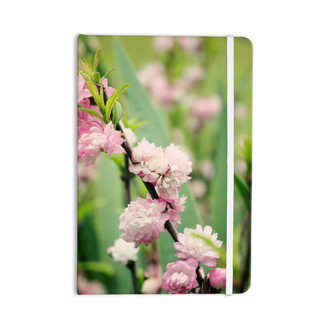 "Beth Engel ""The Best Things in Life Are Pink"" Green Pink Everything Notebook - KESS InHouse  - 1"