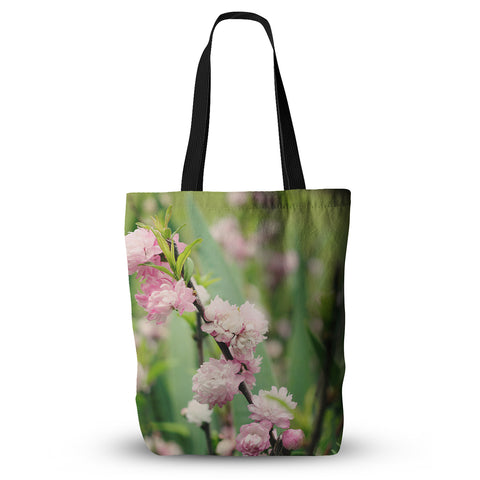 "Beth Engel ""The Best Things in Life Are Pink"" Green Pink Everything Tote Bag - KESS InHouse  - 1"