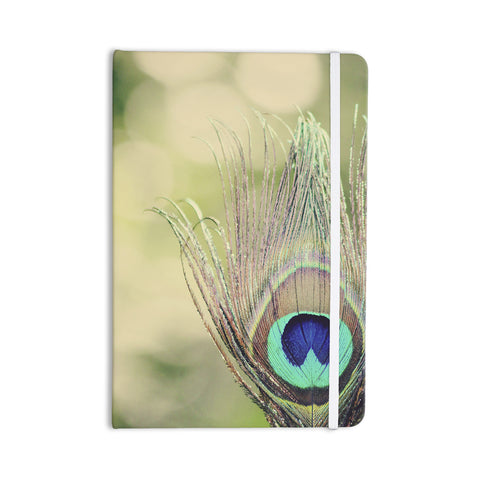 "Beth Engel ""Sun Kissed"" Peacock Feather Everything Notebook - KESS InHouse  - 1"