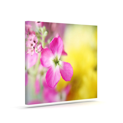 "Beth Engel ""Lucky One"" Floral Photography Canvas Art - KESS InHouse  - 1"