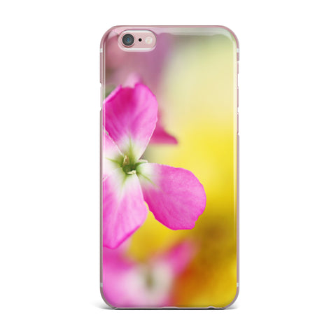 "Beth Engel ""Lucky One"" Floral Photography iPhone Case - KESS InHouse"
