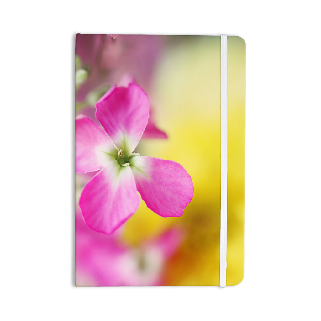 "Beth Engel ""Lucky One"" Floral Photography Everything Notebook - KESS InHouse  - 1"