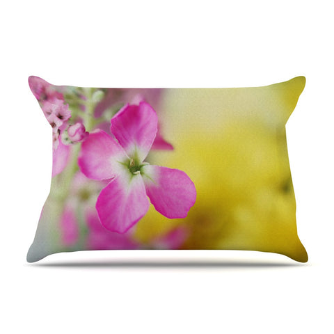 "Beth Engel ""Lucky One"" Floral Photography Pillow Sham - KESS InHouse"
