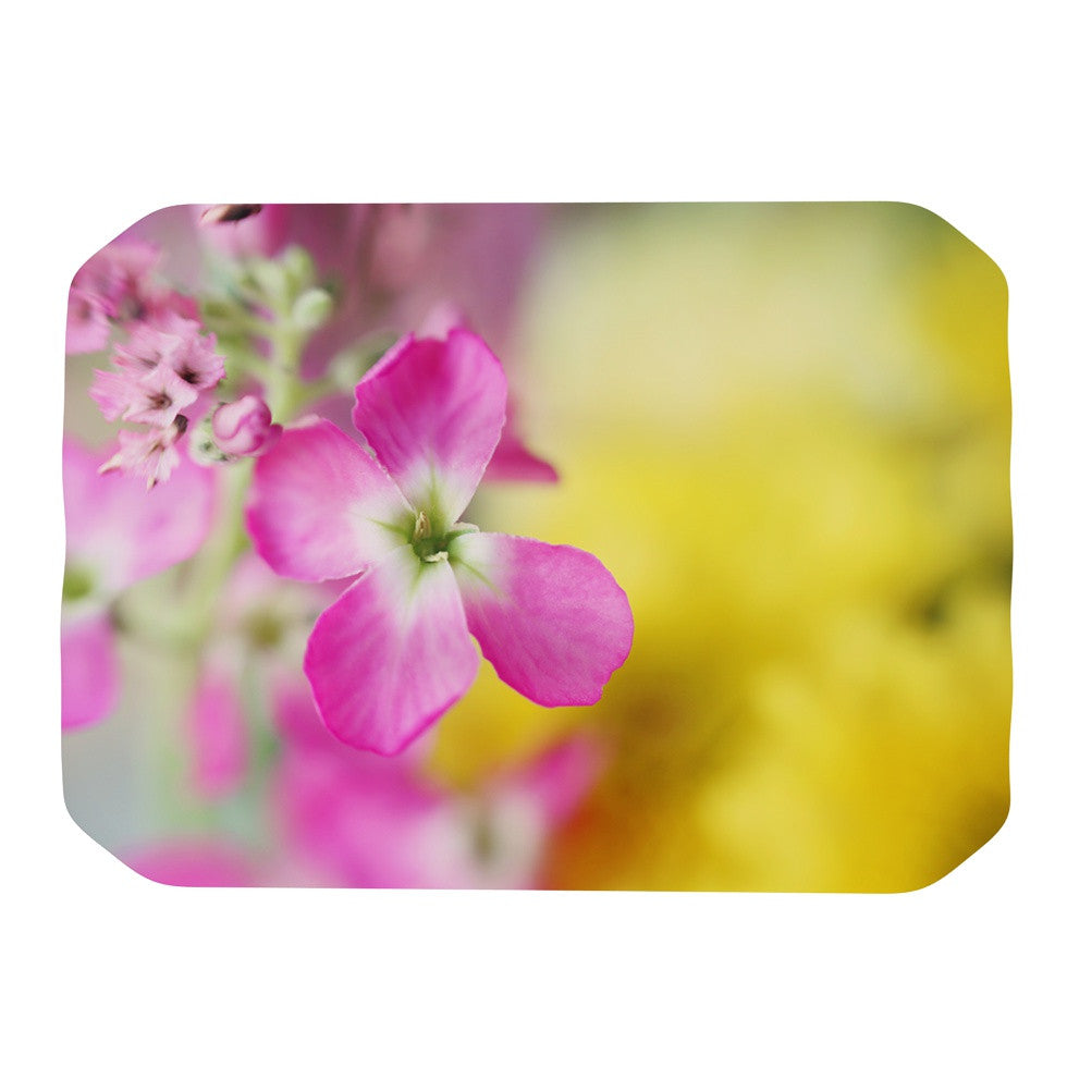 "Beth Engel ""Lucky One"" Floral Photography Place Mat - KESS InHouse"