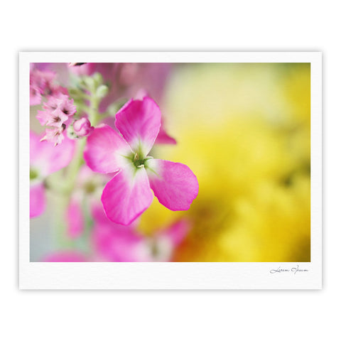 "Beth Engel ""Lucky One"" Floral Photography Fine Art Gallery Print - KESS InHouse"