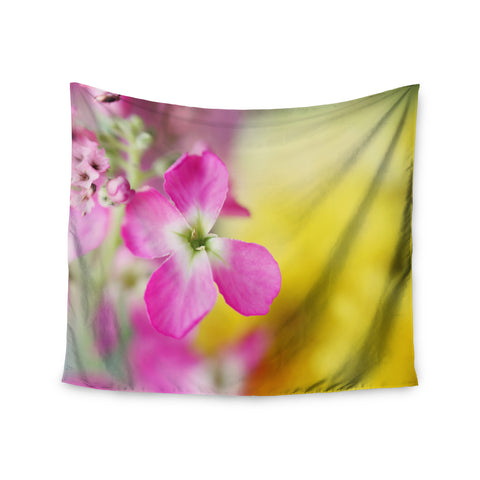 "Beth Engel ""Lucky One"" Floral Photography Wall Tapestry - KESS InHouse  - 1"