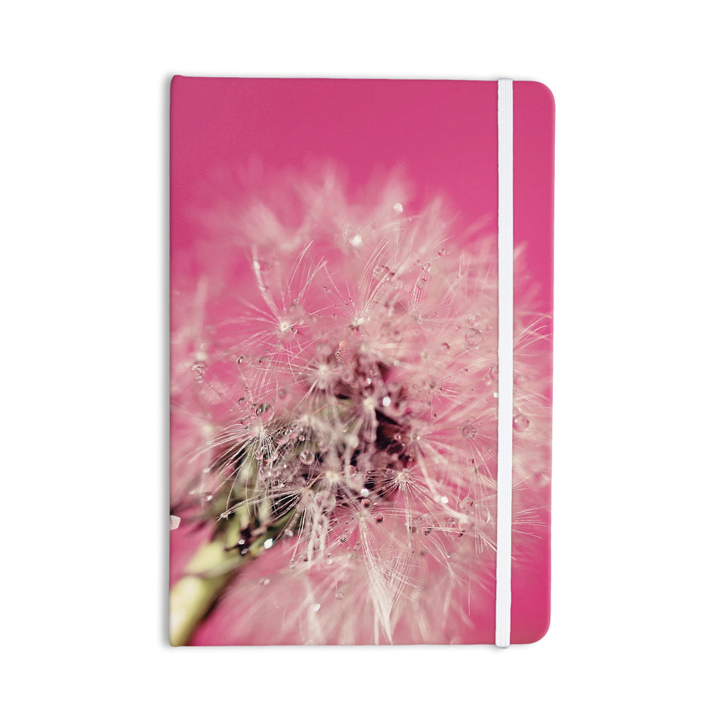 "Beth Engel ""Pink Twilight"" Magenta Dandelion Everything Notebook - KESS InHouse  - 1"