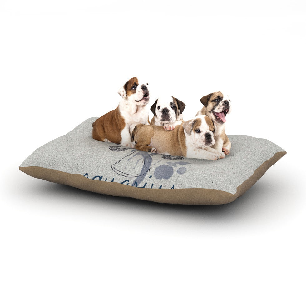 "Belinda Gillies ""Aquarius"" Dog Bed - KESS InHouse  - 1"