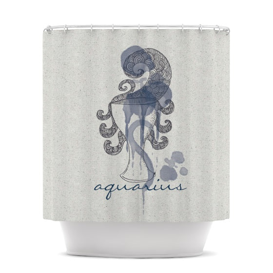 "Belinda Gillies ""Aquarius"" Shower Curtain - KESS InHouse"