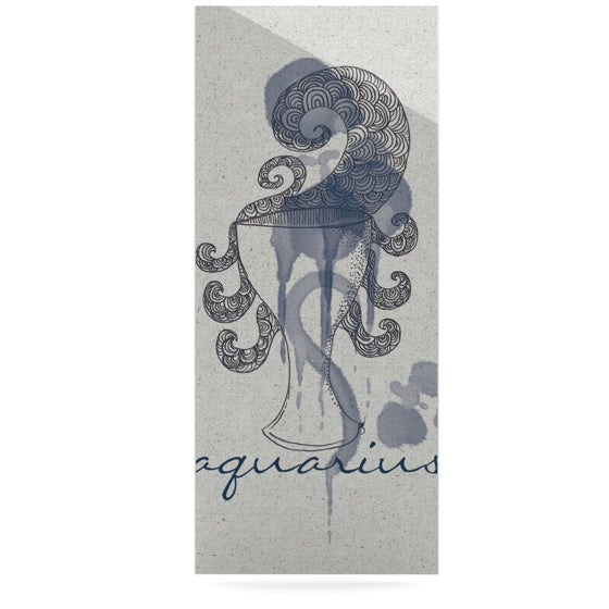 "Belinda Gillies ""Aquarius"" Luxe Rectangle Panel - KESS InHouse  - 1"