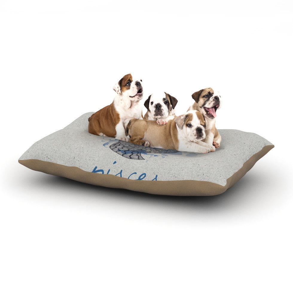 "Belinda Gillies ""Pisces"" Dog Bed - KESS InHouse  - 1"