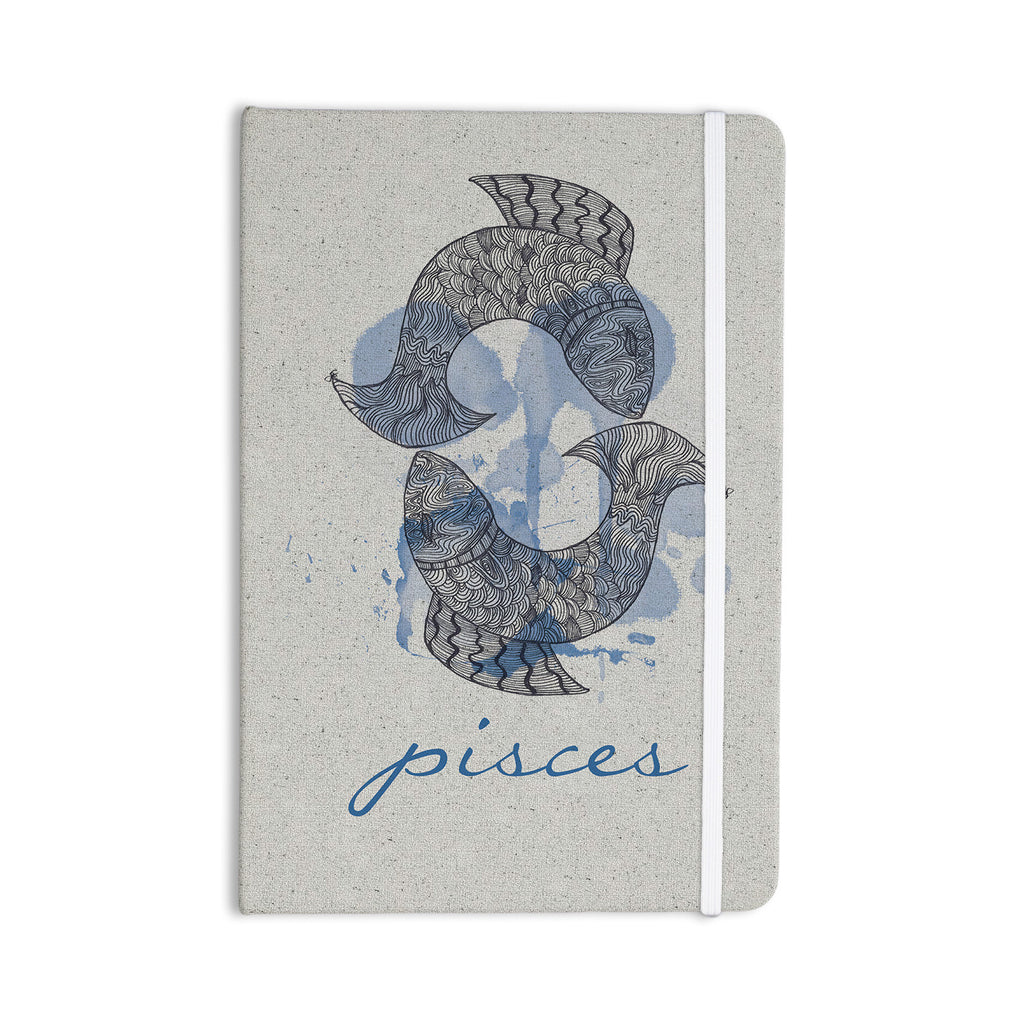 "Belinda Gillies ""Pisces"" Everything Notebook - KESS InHouse  - 1"
