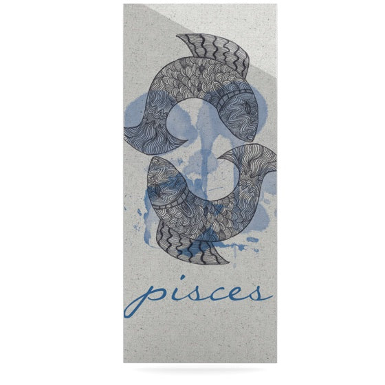 "Belinda Gilles ""Pisces"" Luxe Rectangle Panel - KESS InHouse  - 1"