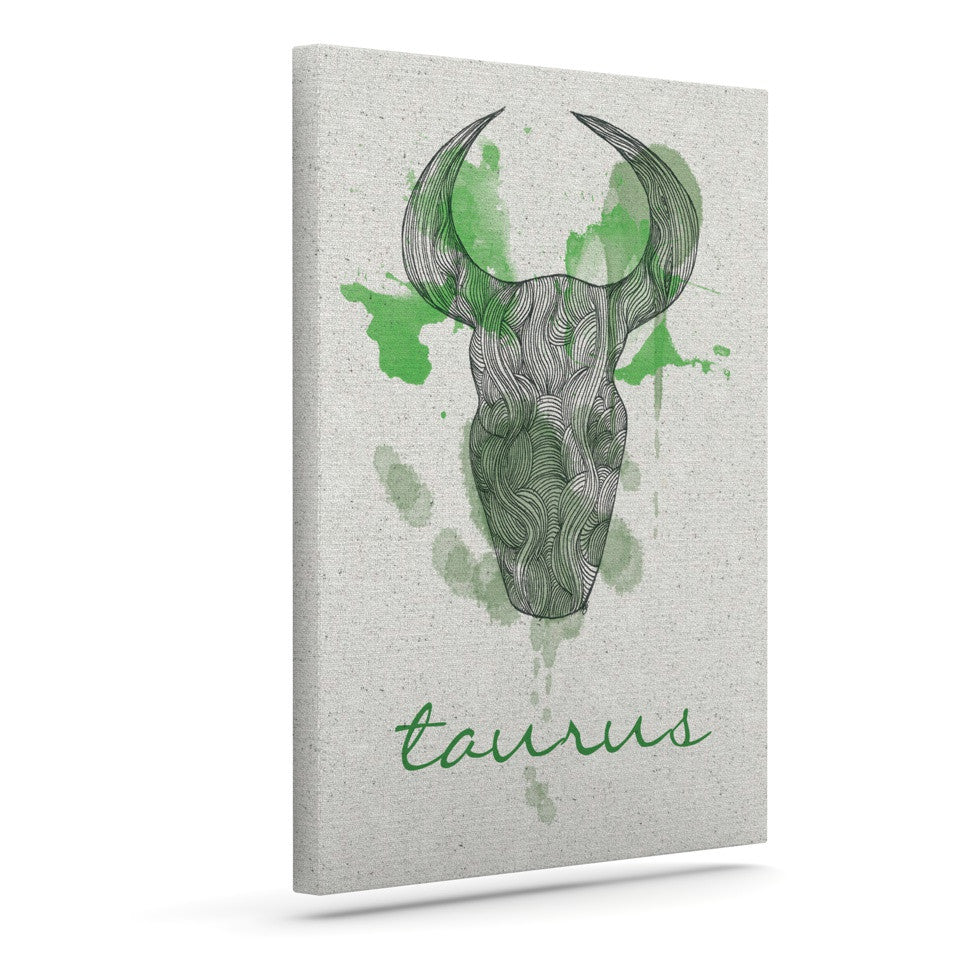 "Belinda Gillies ""Taurus"" Outdoor Canvas Wall Art - KESS InHouse  - 1"