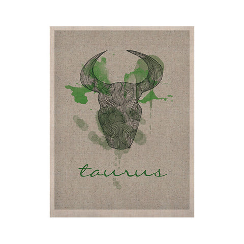 "Belinda Gilles ""Taurus"" KESS Naturals Canvas (Frame not Included) - KESS InHouse  - 1"