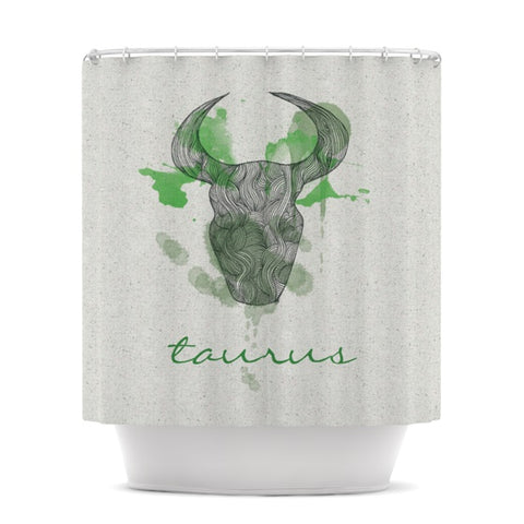 "Belinda Gillies ""Capricorn"" Shower Curtain - KESS InHouse"