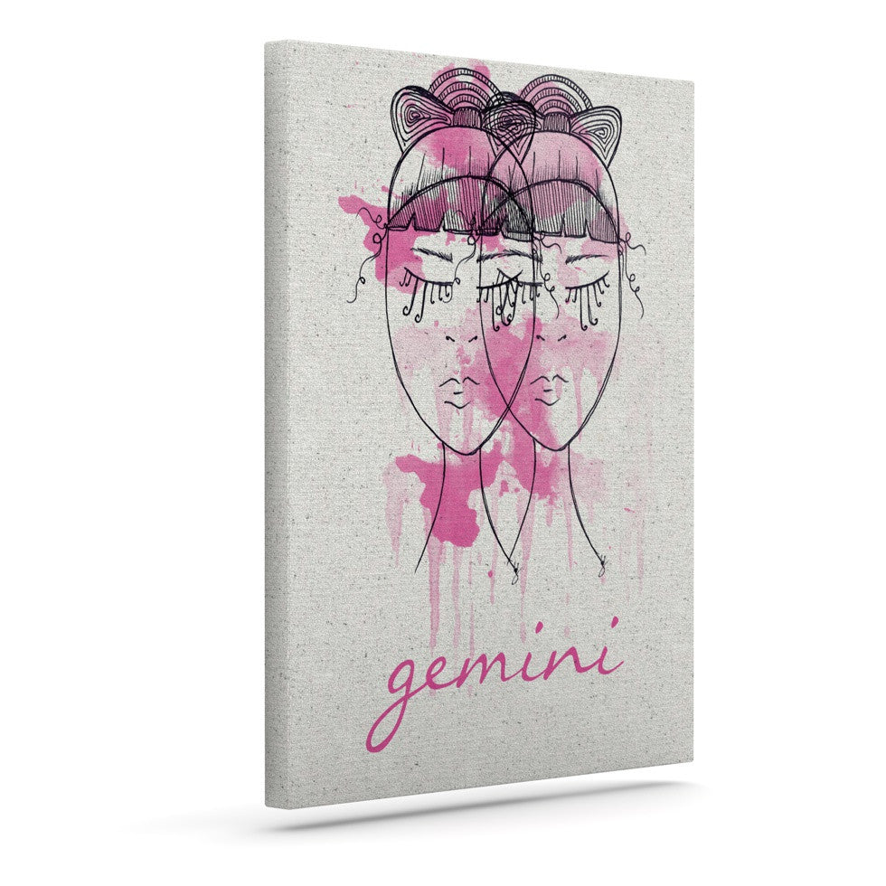 "Belinda Gillies ""Gemini"" Outdoor Canvas Wall Art - KESS InHouse  - 1"