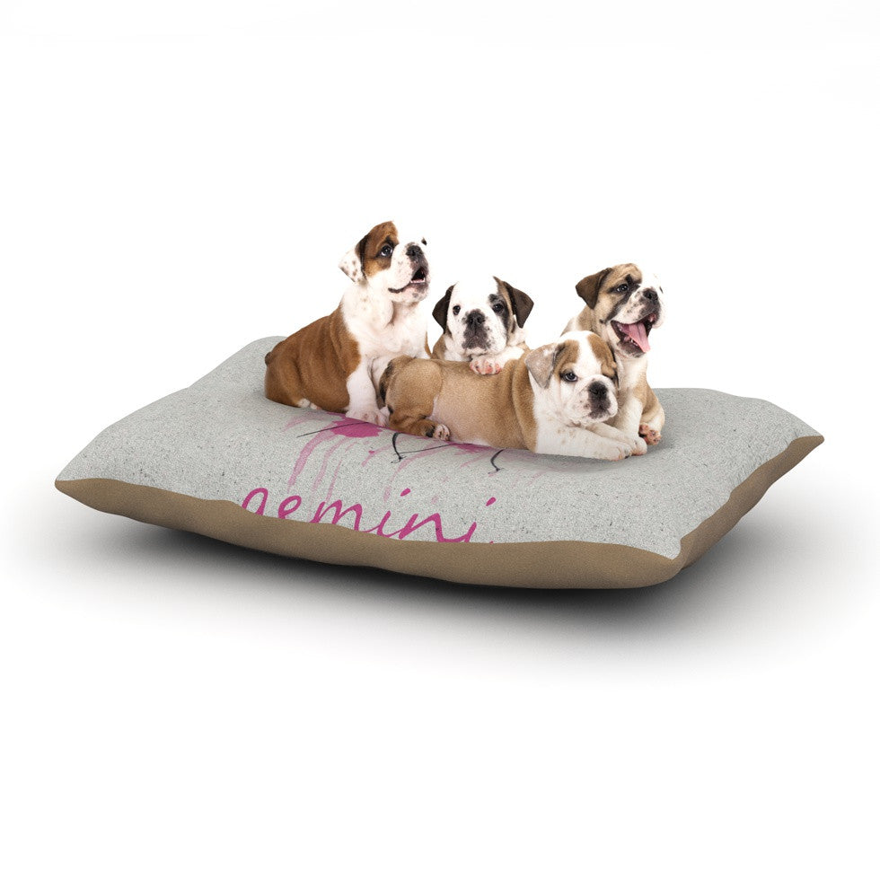 "Belinda Gillies ""Gemini"" Dog Bed - KESS InHouse  - 1"